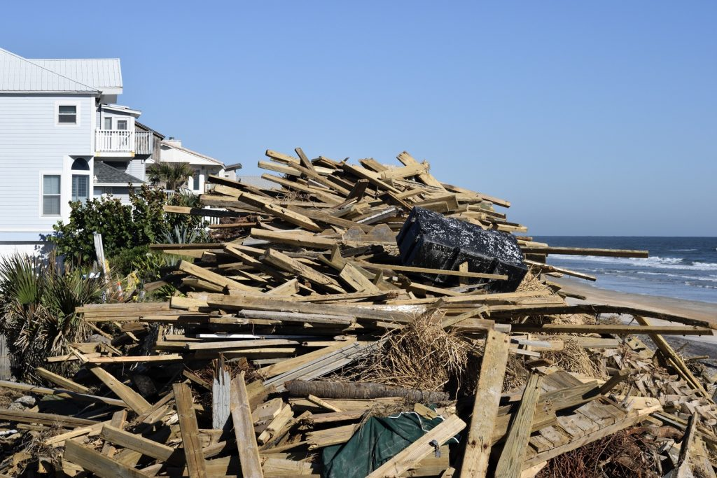 Beach Waste Debris Removal